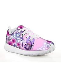 chaqlin Fashion Sneaker Durable Walking Shoe Childrens Hiking Boots Good Grip Footwear Trainers Cute Animals Pattern