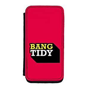 Diy iPhone 6 plus Bang Tidy Premium Faux PU Case, Protective Hard Cover Flip Case for iPhone 6 plus by Chargrilled