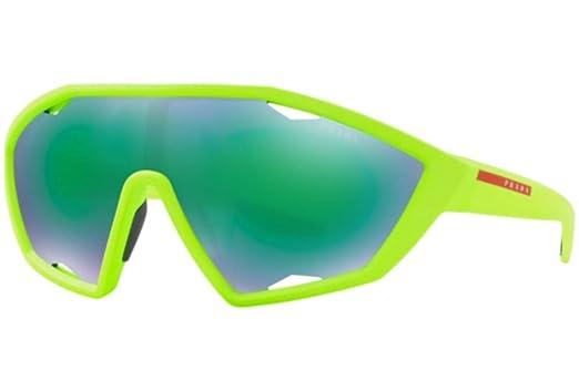 Amazon.com: Gafas de sol Prada Linea Rossa PS 10 US 4471M2 ...