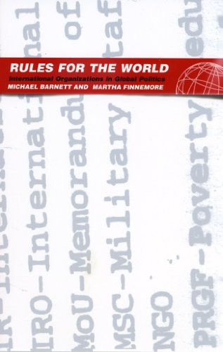 Rules for the World: International Organizations in Global Politics (Rules Of The World)