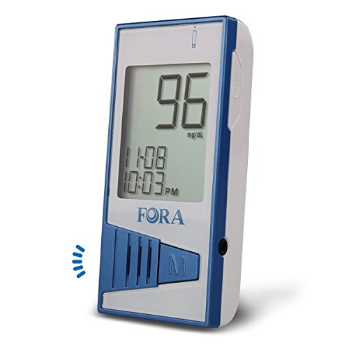 FORA V12 Blood Glucose Monitor (use FORA V12 Test Strip Only)