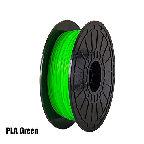 PLA-Green-FlashForge-3D-Printer-Premium-Filament-175-mm-Diameter-NW06-Kg-Per-Spool-for-Dreamer-and-Finder-3D-Printers