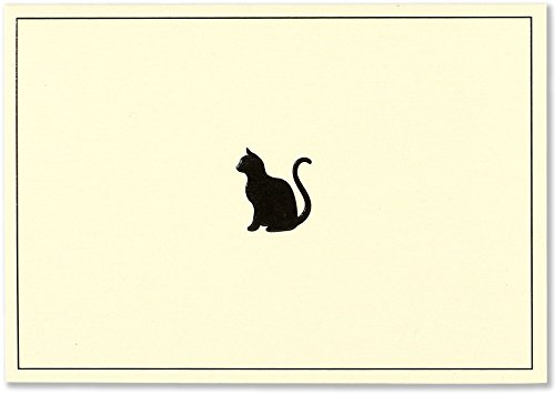 Black Cat Note Cards (Stationery, Boxed Cards)