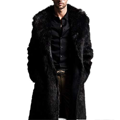 Oudahood Warm Imitation Fur Fur Wool Jacket as Show -