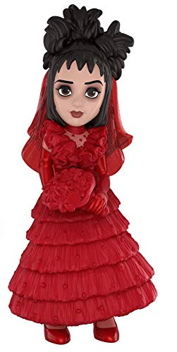 Dress Figure Red - Funko Rock Candy: Beetlejuice Horror - Lydia (Red Wedding Dress) Collectible Figure, Multicolor