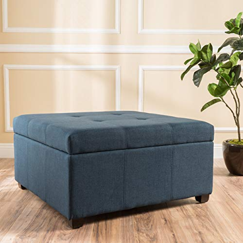 The 10 best storage ottoman blue square