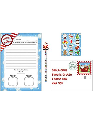 Santa Harlequin (The Harlequin Brand Christmas Letter to Santa 5pc Set)