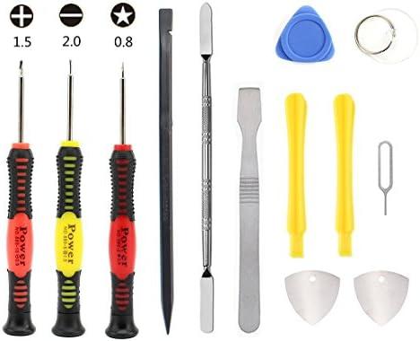 Linmatealliance Repair Tool Kit Kit JIAFA JF-612-1 9 in 1 Repair Tool Set for iPhone//Samsung