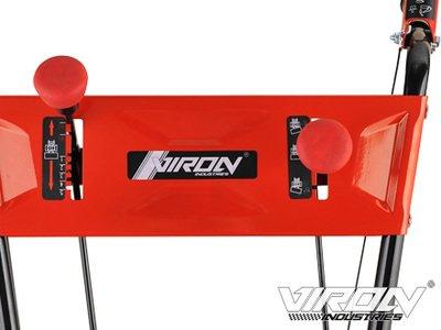 Viron Benzin Kehrmaschine 11 PS Elektrostarter Schneeschieber Motorbesen