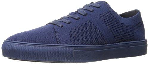 Steve Madden Men's Wexler Fashion Sneaker, Navy, 9 M US