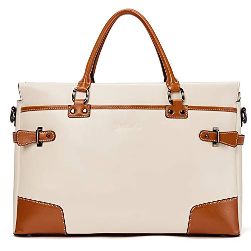 BOSTANTEN Leather Briefcase Messenger Satchel Bags Laptop Handbags for Women by BOSTANTEN (Image #1)