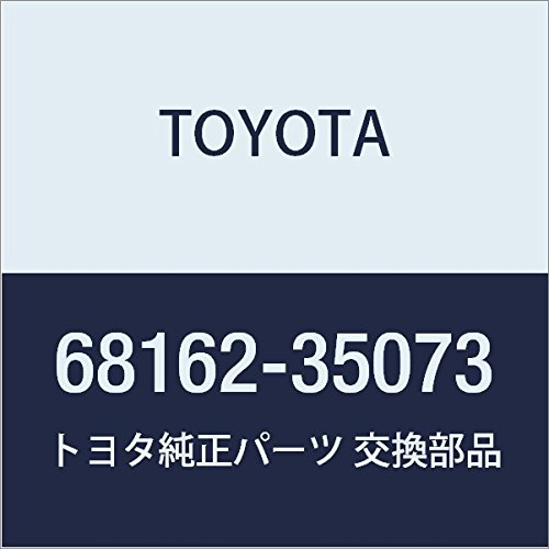 Toyota Genuine 68162-35073 Door Glass Weatherstrip (Glass Weatherstrip)