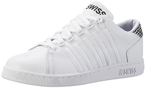 K-Swiss 5398, Zapatillas Hombre Blanco (White/Black)