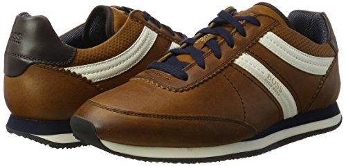 Baas Oranje Adrenal Runn Mens Sneakers Bruin