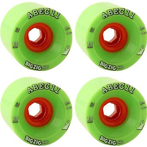 ABEC 11 BigZig HD Lime / Orange Skateboard Wheels - for sale  Delivered anywhere in USA