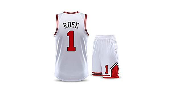 Jerseys De Baloncesto para Hombre: Conjunto De Jersey Derrick Rose ...