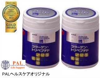 【まとめ買い】ゼライス HACP コラーゲントリペプチド 200g ボトル×2個セット B01BIXNXXS
