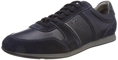 Geox Mens Sneakers U Clemet A Casual Shoes Black