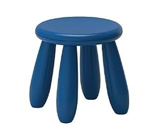 Mammut Childrens Blue Stool ~ Ikea (Blue, 1)