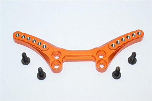 GPM HPI Sport 3 Flux Upgrade Parts Aluminum Front Shock Tower - 1Pc Set Orange