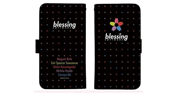 Amazon Com Saekano Flat Blessing Software Character Smart Phone Pouch Case Book Type For Iphone Size 148 Toys Games