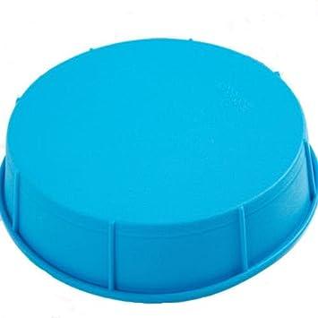momshand 10 pulgadas premium silicona redondo Cake Pan, flexible redondo molde para hornear: Amazon.es: Hogar