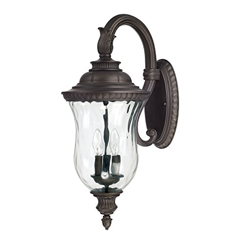 Capital Lighting 9783OB Three Wall Lantern - Capital Lighting Traditional Lantern