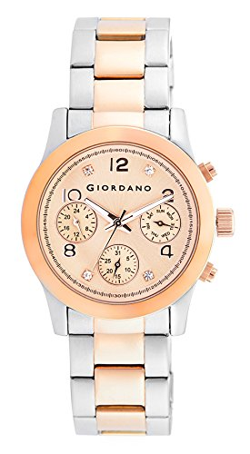 Giordano Analog Rose Gold Dial Women's Watch – A2011-33