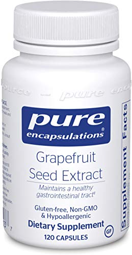 Cheap Pure Encapsulations – Grapefruit Seed Extract – Hypoallergenic Supplement Supports GI Tract and Balance of Intestinal Microorganisms* – 120 Capsules