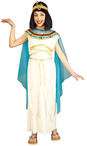 Rubie's Cleopatra Child's Costume, (Egyptian Dress For Girls)