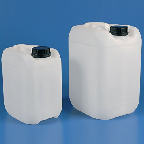 Globe Scientific 601780 HDPE Industrial Tank, 2L Volume