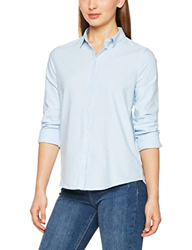 Femme Noos Pcirena Shirt Kentucky LS Blue Oxford Kentucky Blue Bleu Chemise Pieces nRYxawn
