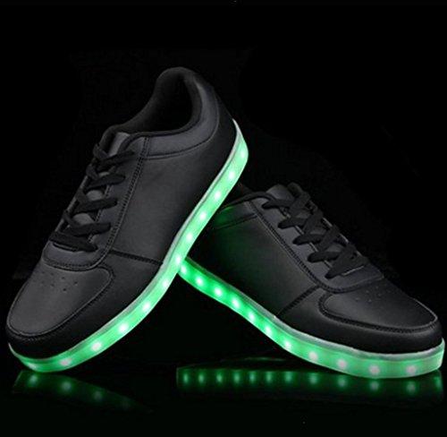 [Presente:pequeña toalla]c26 EU 40, Zapatos 7 Light Up Mujer