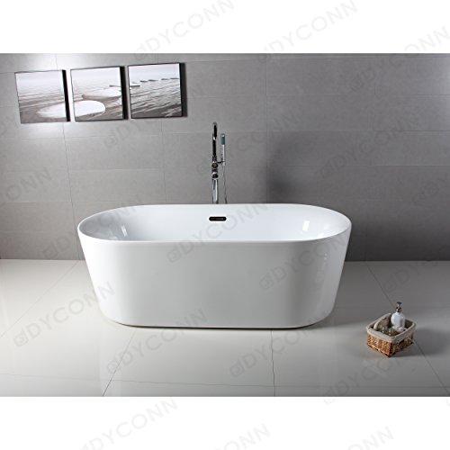 glossy white acrylic tub - 6