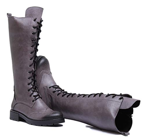 Stiefel Stiefeletten 109 Grau Reece Damen 1 Justin 157 A ZC Willow amp; q668FO
