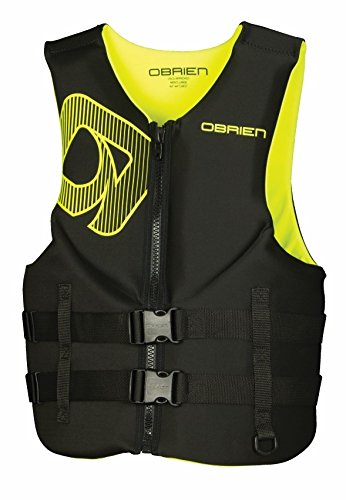 - O'Brien Traditional Neo Life Men's Vest, Yellow, Large