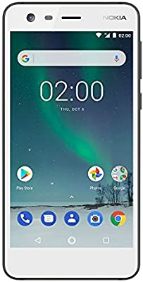 Nokia 2 - Android 7 0 Nougat - 8GB - Dual SIM Unlocked Smartphone  (AT&T/T-Mobile/MetroPCS/Cricket/Mint) - 5