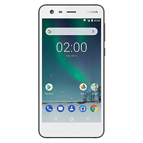 Nokia 2 - Android 7.0 Nougat - 8GB - Dual SIM Unlocked Smartphone (AT&T/T-Mobile/MetroPCS/Cricket/Mint) - 5