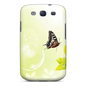 High Quality Mxcases Butterfly Skin Case Cover Specially Designed For Galaxy - S3