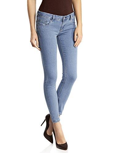 oodji Ultra Mujer Vaqueros Skinny Básicos Azul (7500W)