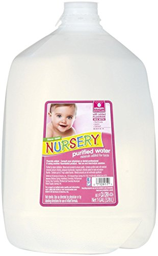 Nursery Water Purified Drinking Water-128 Fluid Ounces-6 Pack