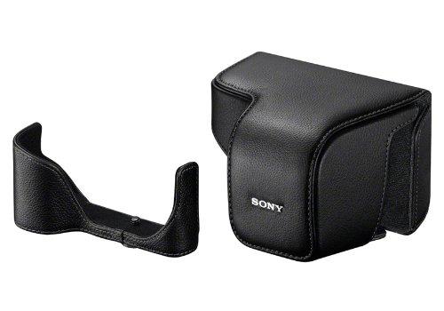 Sony lcselc6 / B本革ケースfor NEX - 6、(ブラック)   B0097DFT3E