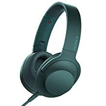 Sony h.ear on Premium Hi-Res Over-Ear Headphones, Viridian Blue