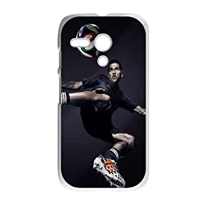 Motorola G Cell Phone Case White_Dani Alves Brazil Adidas 2014 World Cup Yikcu