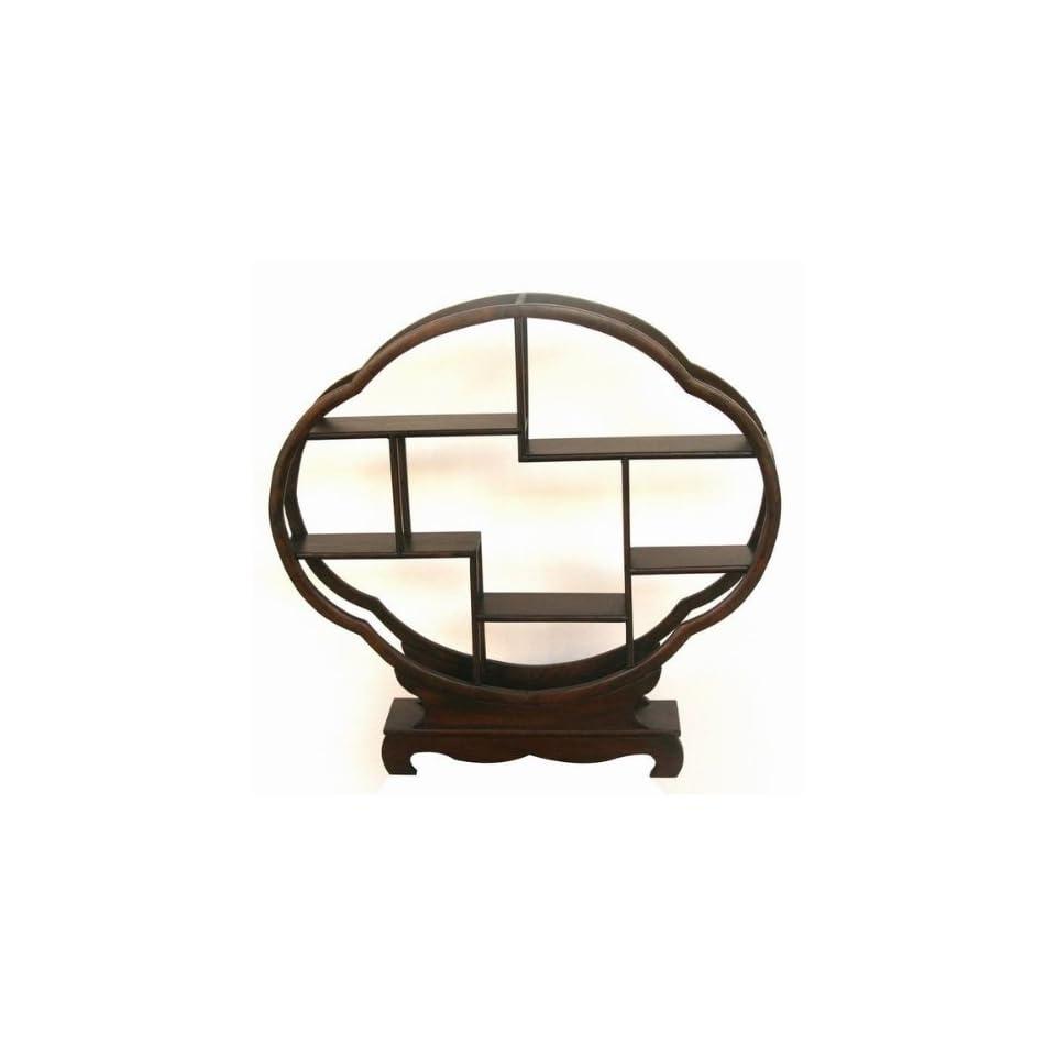 Handcraft Table Top Rosewood Display Rack DIS006