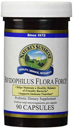 NATURE'S SUNSHINE Bifidophilus Flora Force Capsules, 90 Count