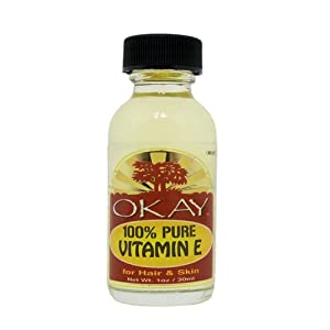 Okay 100% Pure Oil, Vitamin E, 1 Ounce