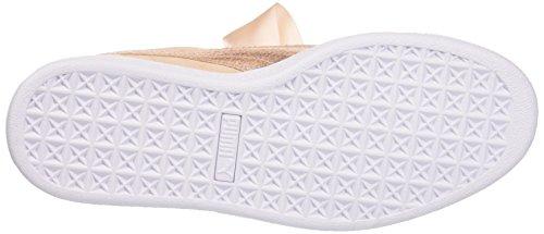 cream Mujer Puma Para Zapatillas Tan Beige Wn's Suede Heart Lunalux nfn8S6T