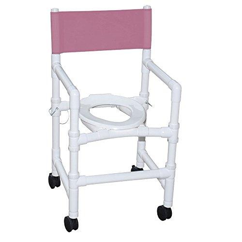 MJM 115-3TW-FD Pediatric Shower Chair with Folding Capaci...