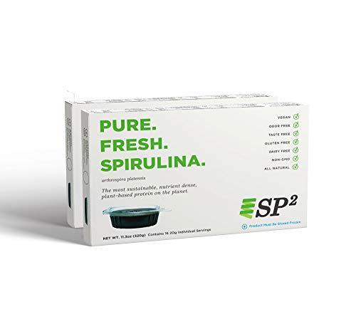 SP2 Life 100% Fresh Spirulina (pack of 64) (Frozen Spirulina)